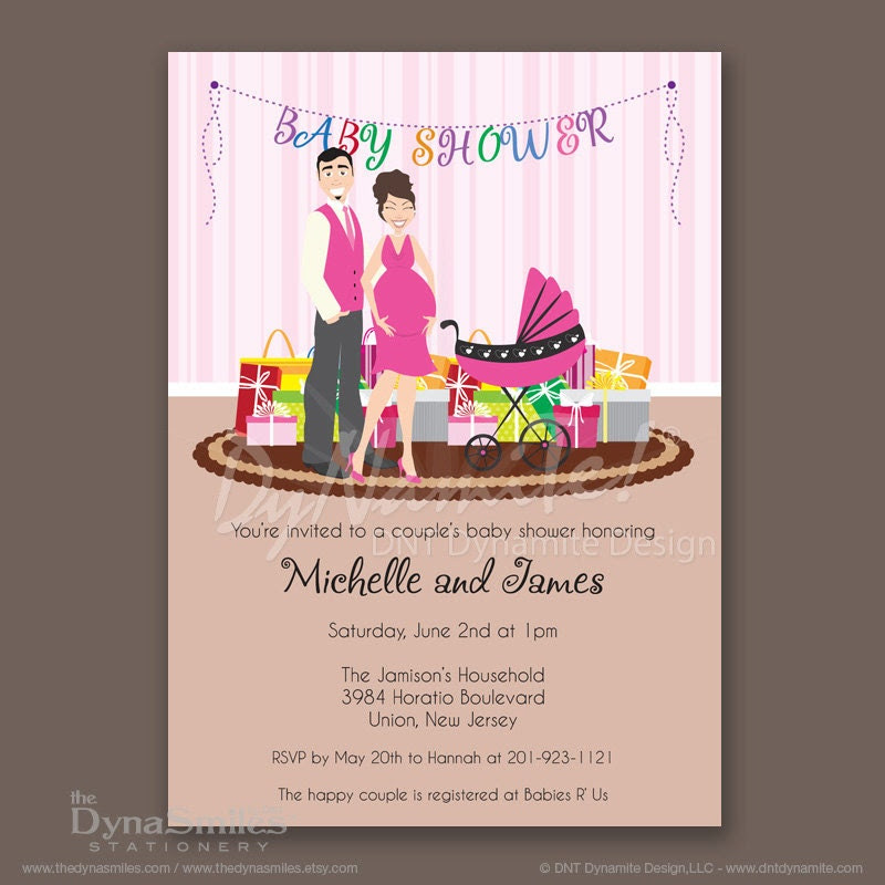 Expecting Couple - Baby Shower Invitation