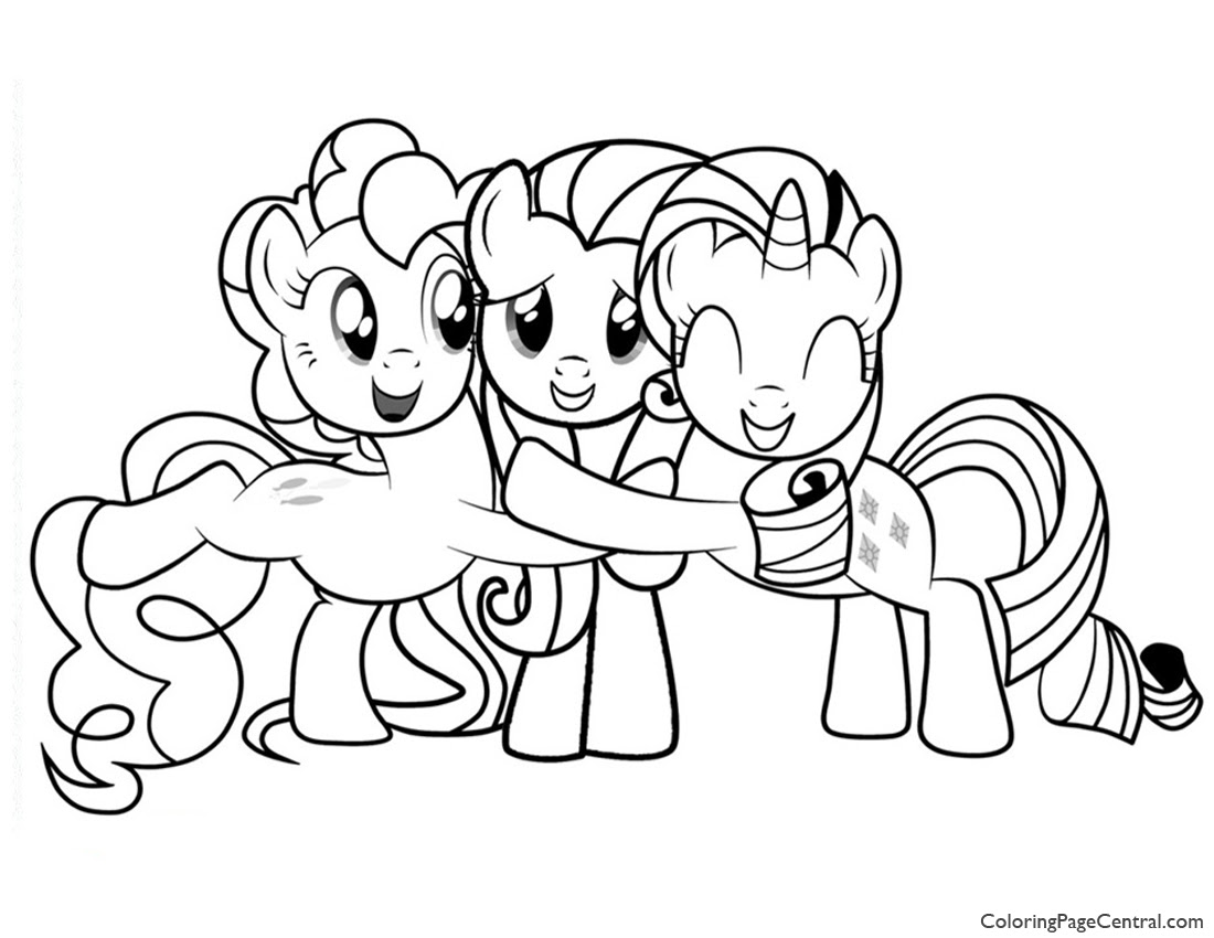 My Little Pony Friendship Is Magic Drawing At Getdrawingscom Free