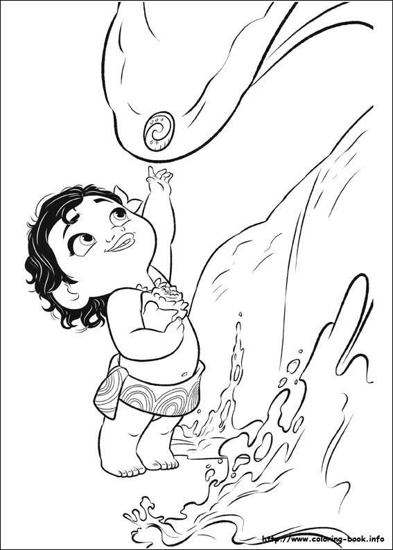 Princess Moana Coloring Pages Coloring And Drawing