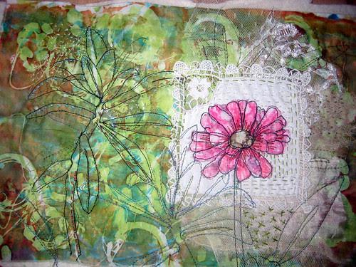drawing to stitch