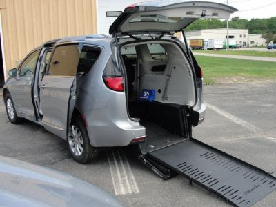 Wheelchair Van New 2019 Chrysler Pacifica Kr643729