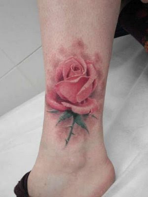 One good thing about a foot tattoo is that it is usually small in form and