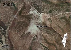 foto aerea di Mitzpe Danny