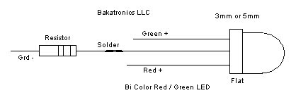 Bi Color LED Schematic