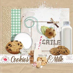 Cookies And Milk Freebie