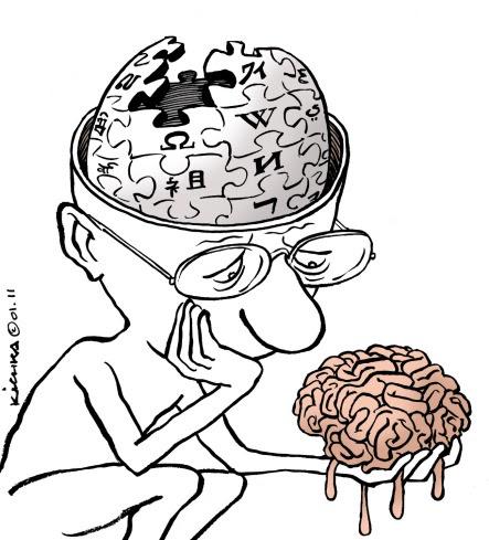 Wikipedia es mi cerebro
