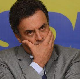 Entrevista coletiva do presidente nacional do PSDB, senador Aécio Neves (MG), sobre a atuação da Conselho Administrativo de Defesa Econômica (Cade) e do Ministério da Justiça na investigação do caso Siemens.