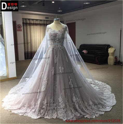 Aliexpress.com : Buy Pleat Bridal Wedding Gown Real Photos