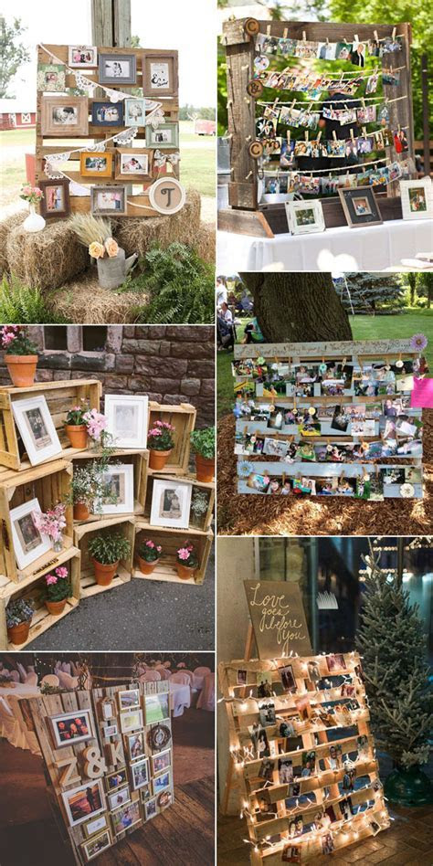 Top 35 Super Cool Photo Display Ideas for Your Wedding
