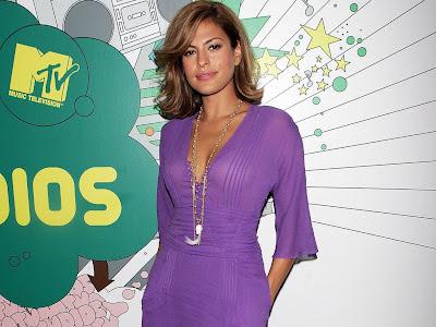 Eva Mendes at MTV awards