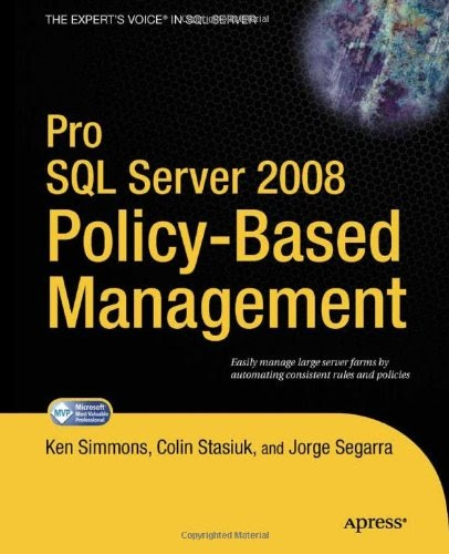[PDF] Pro SQL Server 2008 Policy-Based Management Free Download