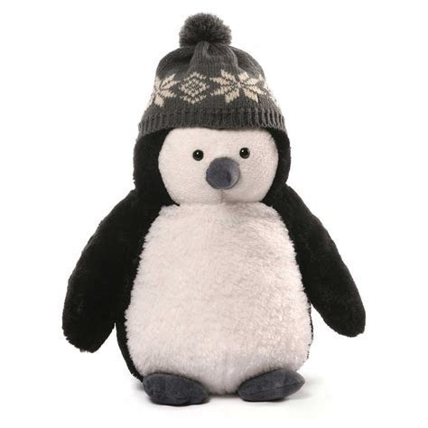 GUND Christmas Puffers Penguin Medium Stuffed Animal