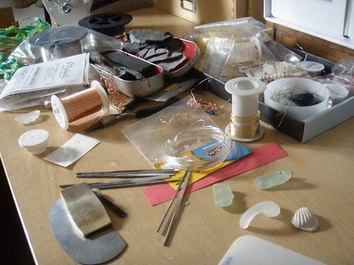 mess of creativity