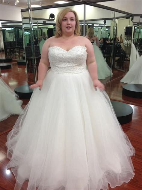 51 best images about Full figure wedding gowns on