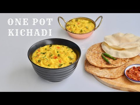 Restaurant Style Dal Khichdi Recipe - Easy Rice Recipe - Easy and Tasty Dal Khichdi Recip