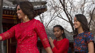 China sees Obama girls, but not Xi's daughter