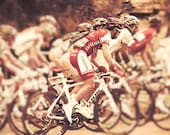 Tour de France Bicycle race biking cycling bikes inspiration motivaliton sepia film sports photography wheels - Race 8x12