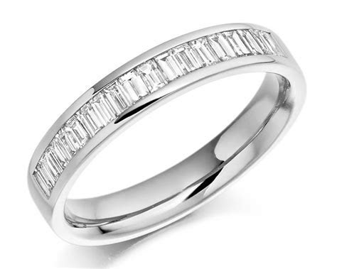 0.56ct Baguette Channel Set Wedding Ring WR3076 Ireland