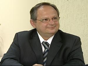 Secretário de Justiça do Espírito Santo, Ângelo Roncalli (Foto: Reprodução/TV Gazeta)