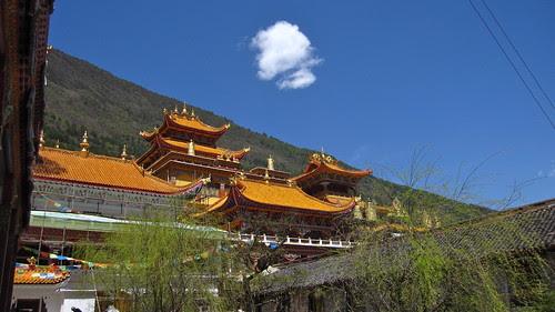 Nanwu Temple, Kanding