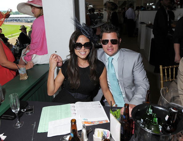 Nick Lachey Vanessa Minnillo and Nick Lachey attend the 137th Kentucky Derby at Churchill Downs on May 7, 2011 in Louisville, Kentucky.
