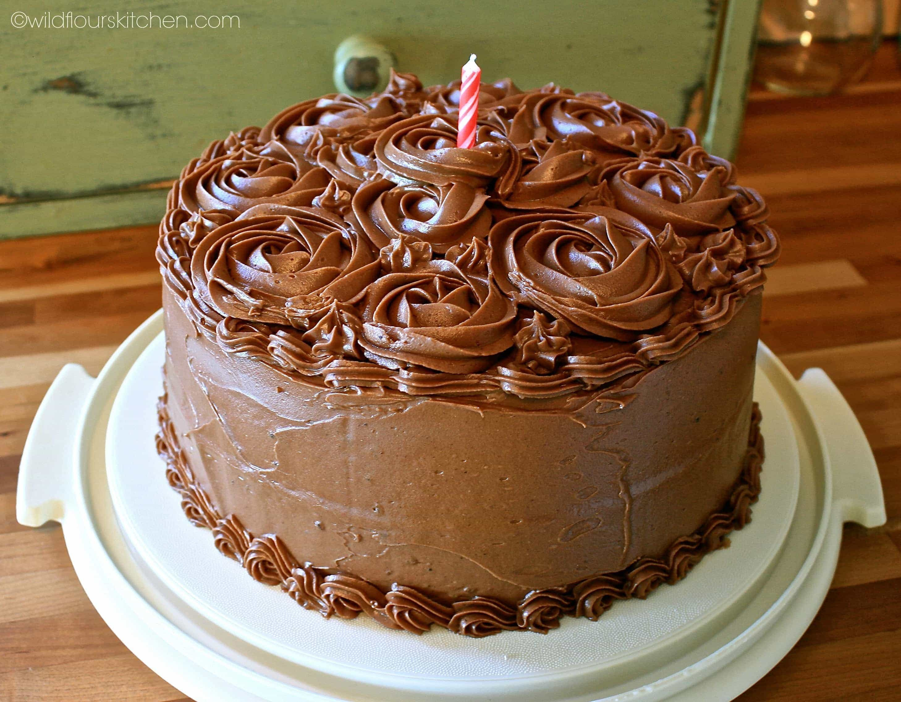 Classic Chocolate Birthday Cake (with a touch of Espresso ...