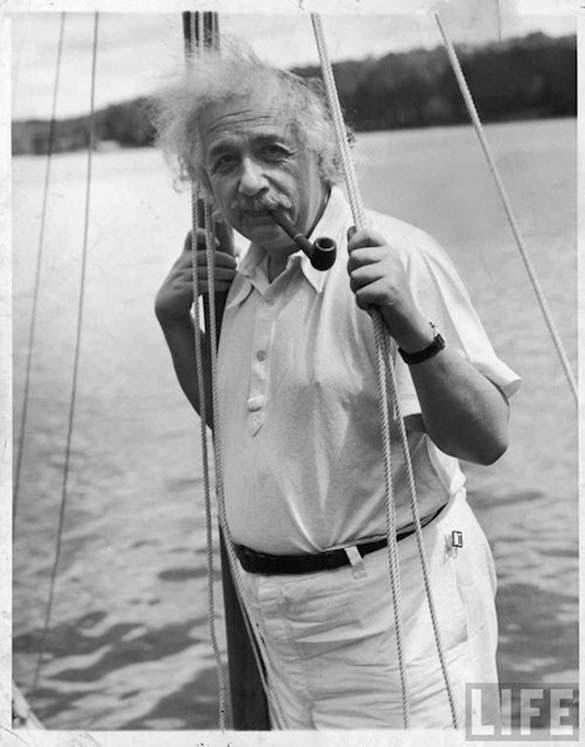 Φωτογραφίες του Albert Einstein όπως δεν τον έχουμε συνηθίσει (6)