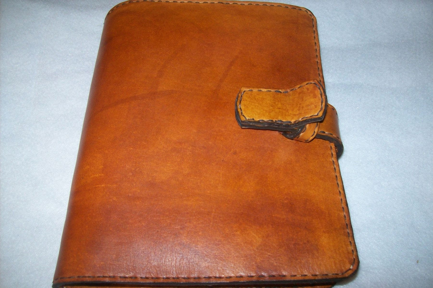 Buy a Hand Made Custom Leather Day Planner, made to order from ...