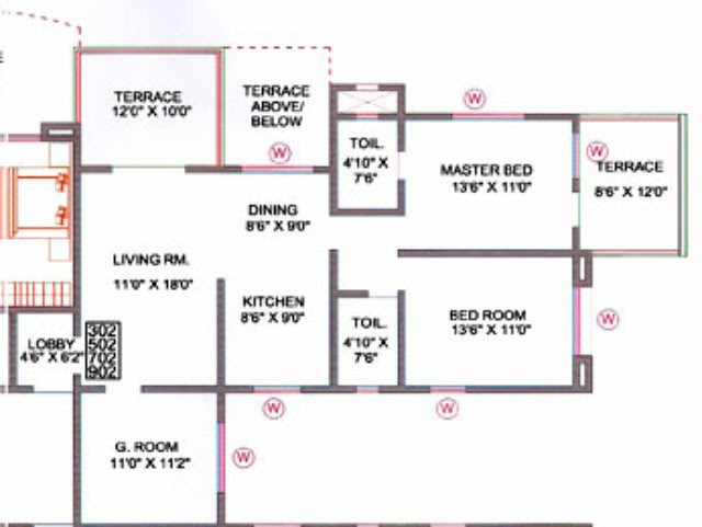 Ready Possession 2.5 BHK Flat in Orchid Towers Baner Pune 411 045
