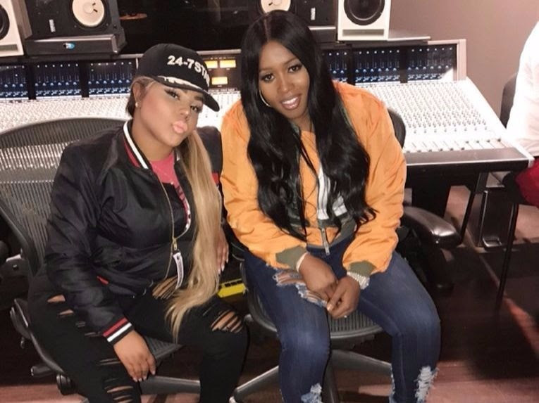 Image result for lil kim remy ma studio