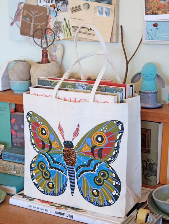 Moth Tote