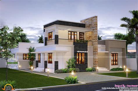 cute contemporary home kerala design floor plans home