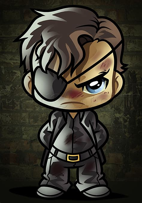 draw chibi governor   walking dead step