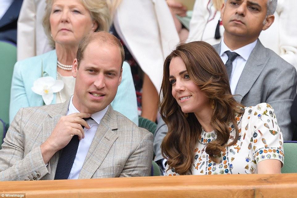 Książę i księżna Cambridge na Wimbledonie + informacja.