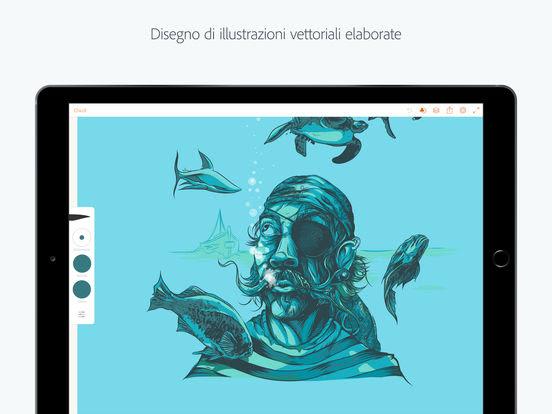 Adobe Illustrator Draw si aggiorna alla vers 4.0.2