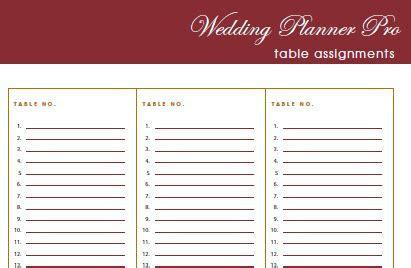 DIY Free Wedding Planner Pro fillable PDF   Worldlabel Blog