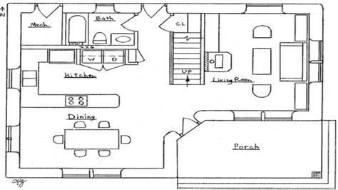 bedroom house simple plan small  bedroom house floor