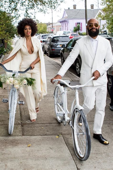 All the outfits from Solange?s amazing wedding weekend