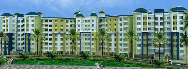 These elegant buildings in Dajikaka Gadgil Developers' Anant Srishti Kanhe will have 600 units of 1 BHK (Rs. 13 Lakhs approx), 2 BHK (Rs. 19 Lakhs) & 2.5 BHK (Rs. 21.5 Lakhs) Flats
