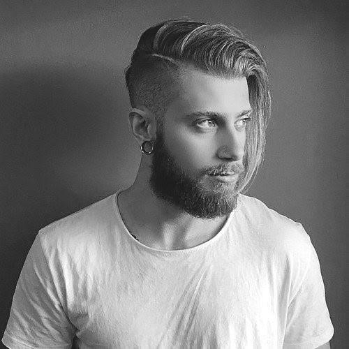 Stilvollen Männer Frisuren Für Lange Haare Kunstopde
