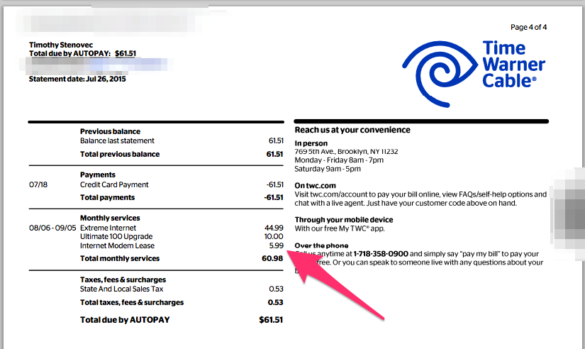 Time Warner Cable Bill Pay - InformerBox