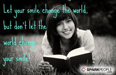 Let Your Smile Change The World But Dont Let The World Cha