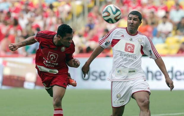 Jogo das Estrelas - Hernane e Djair (Foto: Cezar Loureiro/Agência O Globo)