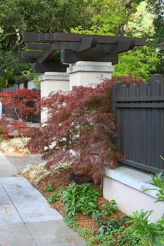 clairmont fence and arbor