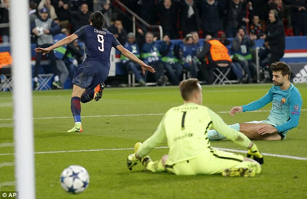 PSG thrashed Barcelona 4-0 in the first-leg of their Champions League last-16 tie in Paris