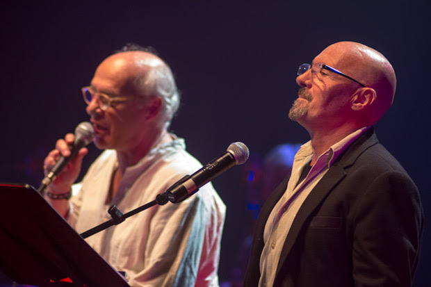 Joan Isaac y Enric Hernàez. © Xavier Pintanel