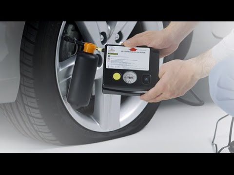 How To Use A Tyre Repair Kit Youtube