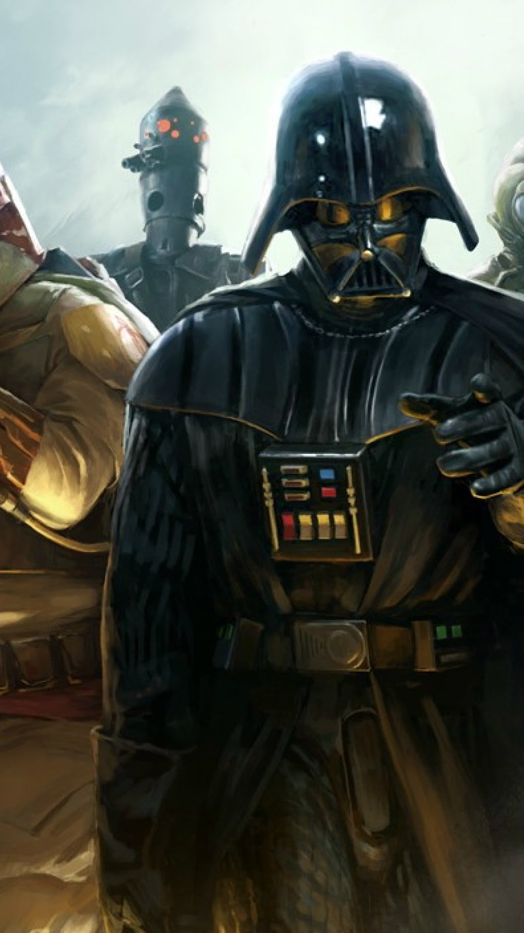 Darth Vader Hd Wallpaper Iphone 6 6s Plus Hd Wallpaper