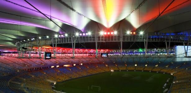 Maracanã foi liberado para receber amistoso entre Brasil e Inglaterra no domingo