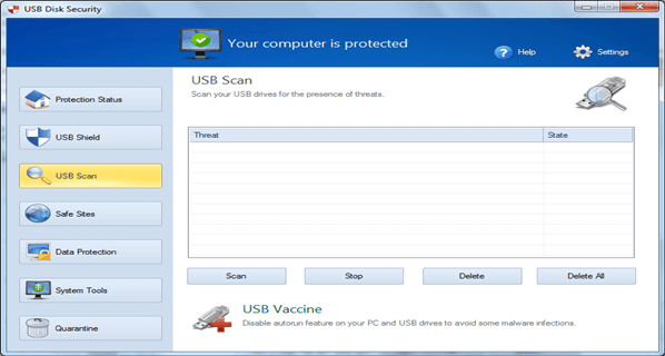 USB Disk Security PC Software